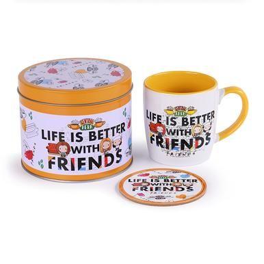 Friends - Coffee Mug, Coaster And Tin