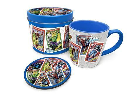 Marvel Comics - Coffee Mug, Coaster And Tin