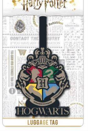 Harry Potter Hogwarts Crest - Luggage Tag