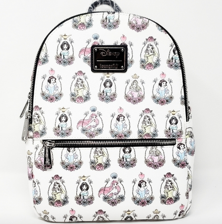 Disney Princess Frames - Loungefly Mini Backpack Bag