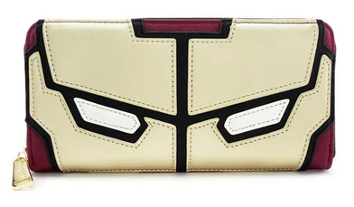 Iron Man Loungefly Marvel Zip Purse