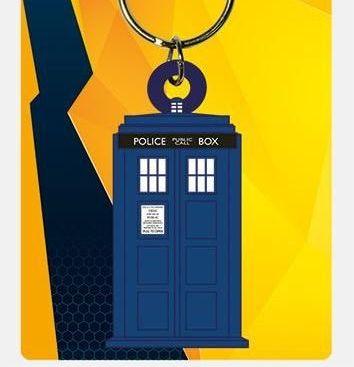 Dr Who Tardis - Quality Rubber Keyring