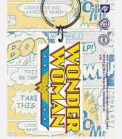 Wonder Woman Logo  - Quality Rubber Keyring