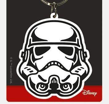 Star Wars Storm Trooper - Quality Rubber Keyring