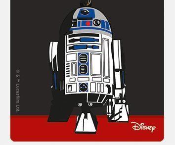 Star Wars R2-D2 - Quality Rubber Keyring