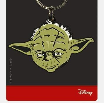 Star Wars Yoda  - Quality Rubber Keyring