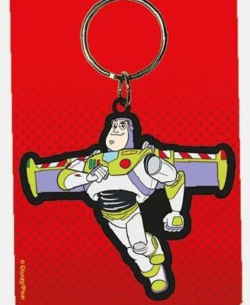 Buzz Lightyear- Toy Story - Quality Rubber Keyring