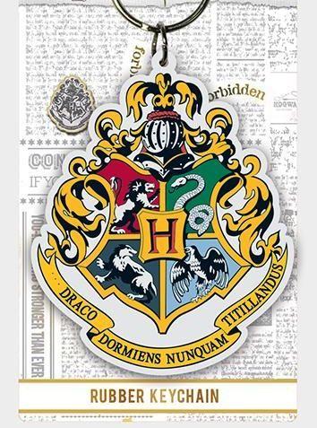 Hogwarts Crest Harry Potter - Quality Rubber Keyring