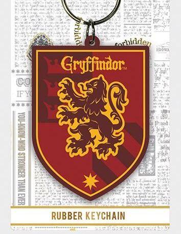 Gryffindor Harry Potter - Quality Rubber Keyring