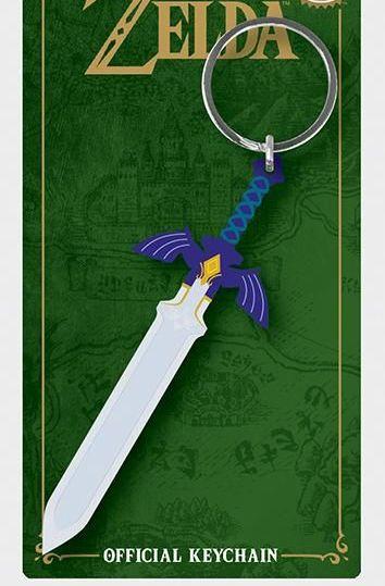 Legend Of Zelda Sword  - Quality Rubber Keyring