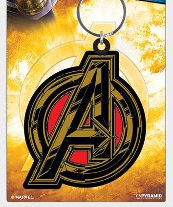 Marvel Avengers Infinity War  - Quality Rubber Keyring