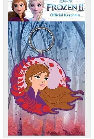 Disney Anna Frozen  - Quality Rubber Keyring