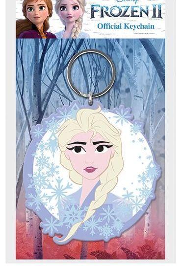 Disney Elsa Frozen  - Quality Rubber Keyring