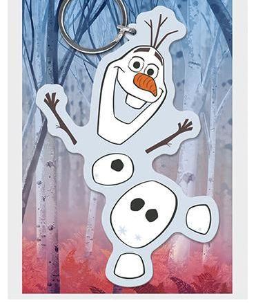 Disney Olaf Frozen  - Quality Rubber Keyring