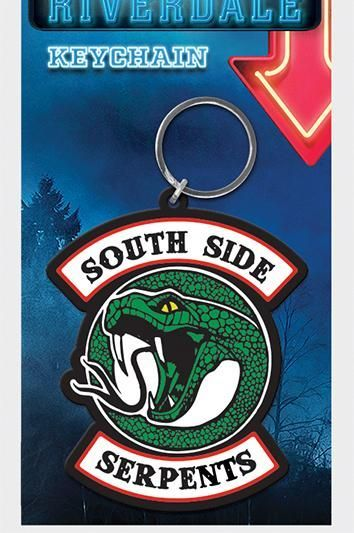 Riverdale Pops South Side Serpents  - Quality Rubber Keyring
