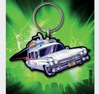 Ghostbusters Ectomobile - Quality Rubber Keyring