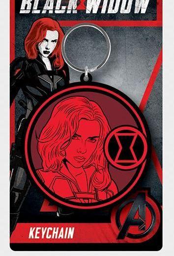 Marvel Black Widow  - Quality Rubber Keyring