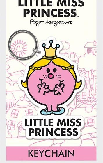 Little Miss - Princess  - Quality Rubber Keyring