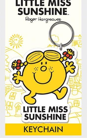 Little Miss - Sunshine  - Quality Rubber Keyring