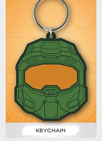 Halo Master Chief  - Quality Rubber Keyring