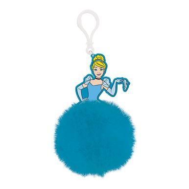 Disney Princess Cinderella  Dress - Quality Pom Pom Keyring