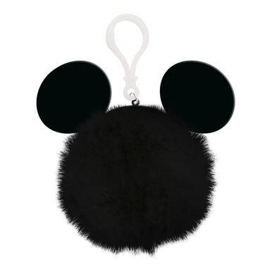 Disney Mickey Mouse Ears  - Quality Pom Pom Keyring