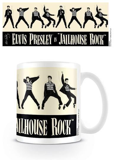 Elvis Jail House Rock - Icon - Coffee Mug