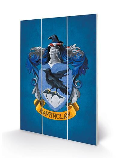 Ravenclaw - Harry Potter - Wooden Panel Wall Art