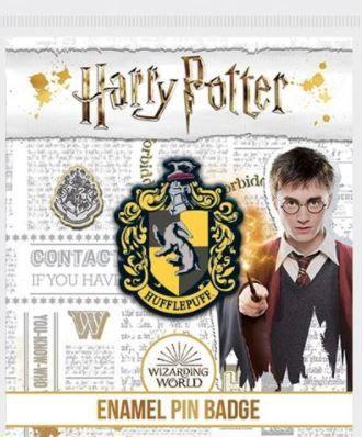 Harry Potter Hufflepuff Enamel Pin Badge