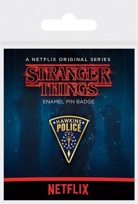 Stranger Things - Hawkins Police Enamel Pin Badge