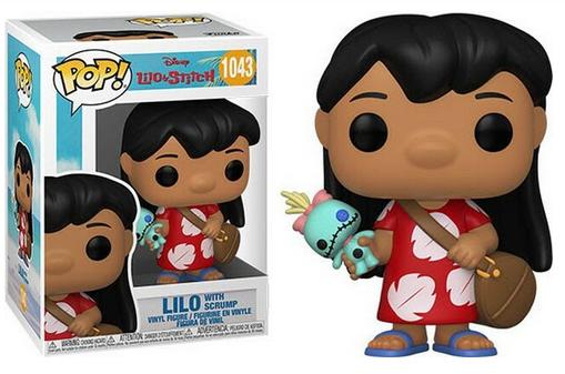 DIsney Lilo & Stitch Lilo with Scrump - Funko Pop 1043