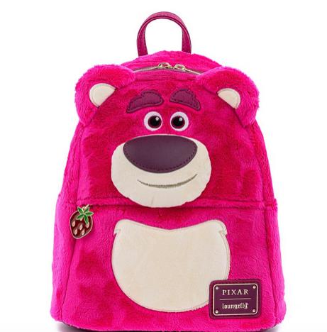 Loungefly x Disney Pixar Toy Story Lotso Sherpa Mini Backpack