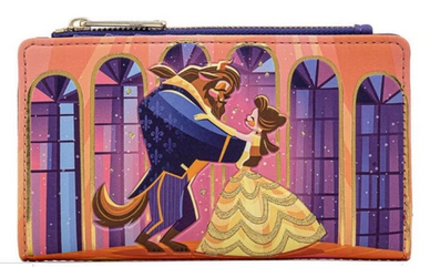 Disney Beauty And the Beast Loungefly Purse Wallet