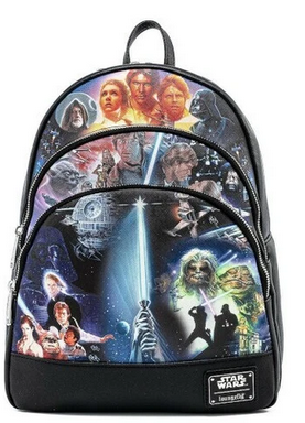 Star Wars May the Force Be with You Loungefly Mini Backpack Bag