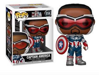 Falcon and the Winter Soldier Captain America - Funko Pop 814
