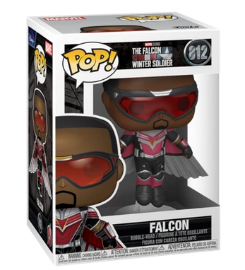 Falcon and the Winter Soldier - Falcon Flying- Funko Pop 812