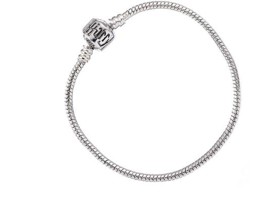 Harry Potter - Silver Plated Bracelet for Slider Charms 19cm Long