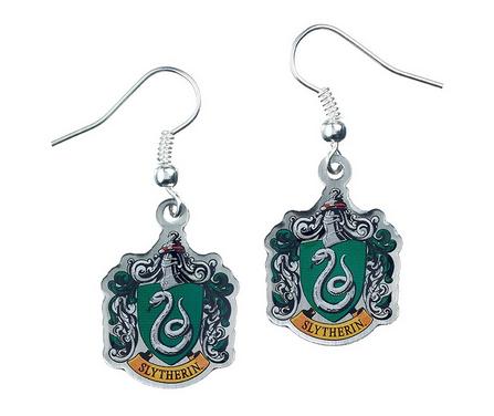 Harry Potter - Slytherin Crest  Earrings