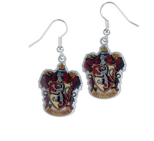 Harry Potter - Gryffindor Crest  Earrings
