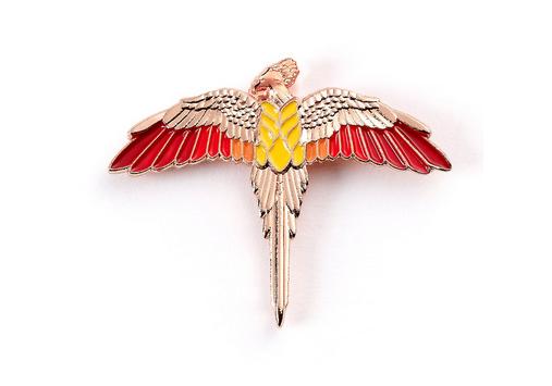 Harry Potter Fawkes Enamel Pin Badge