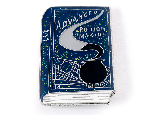 Harry Potter  Advanced Potion Making Book Enamel Pin Badge