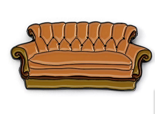 Friends - Couch Enamel Pin Badge