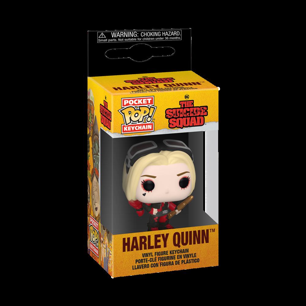 Suicide Squad - Harley Quinn - Mini Funko Pocket Pop Keyring Keychain