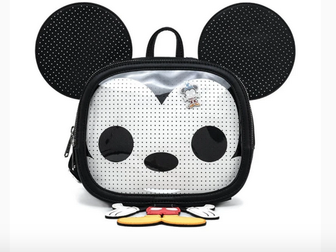 Disney  - Mickey Mouse Pin Trader - Crossbody Bag by Loungefly