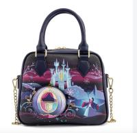 Cinderella Castle Disney Loungefly Crossbody Bag