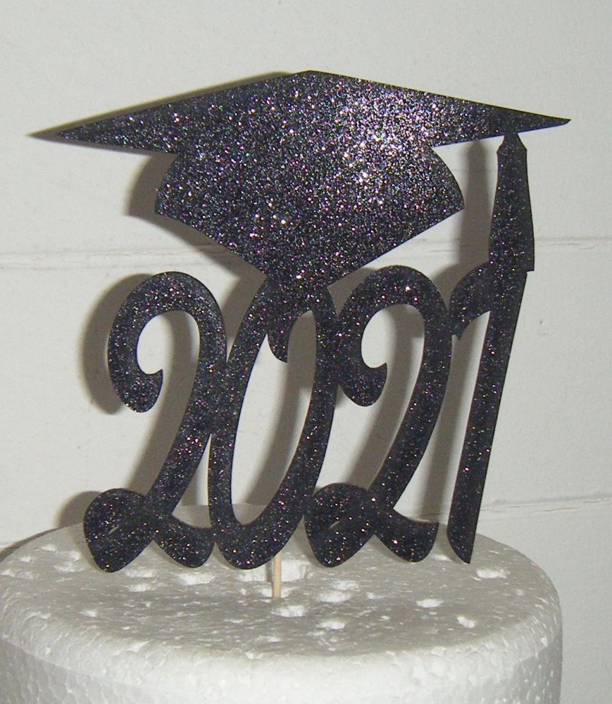 Graduation Cap Any Year -  Silhouette Cake Topper