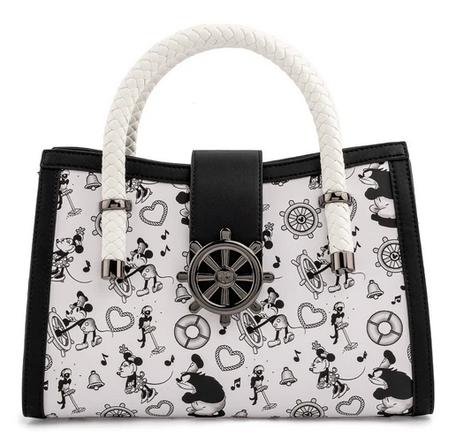 Disney Steamboat Willie Loungefly Crossbody Bag
