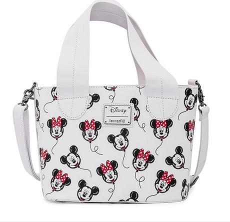 Minnie Mickey Mouse Balloons Disney Loungefly Crossbody Bag