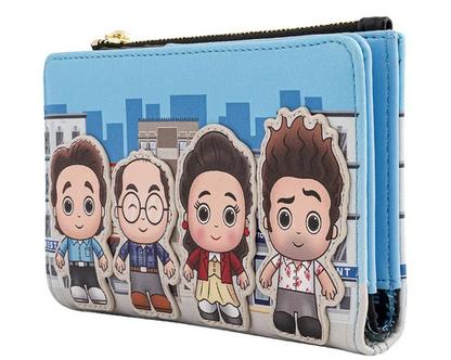 Seinfeld Chibi Loungefly Purse Wallet