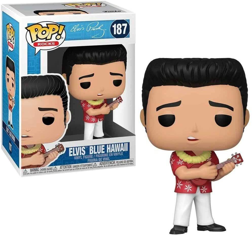 Elvis Presley - Blue Hawaii Vinyl Figure - Funko Pop 187